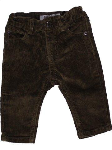 Pantalon garçon ZARA marron 6 mois hiver #1040575_1