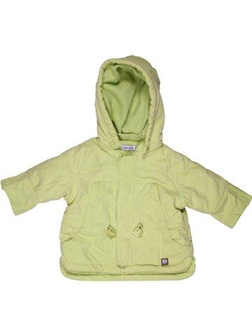 Manteau garçon OKAIDI vert 6 mois hiver #1059604_1