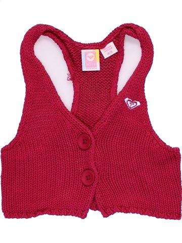 Gilet fille ROXY rouge 4 ans hiver #1066795_1