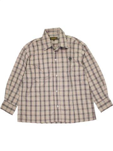 Camisa de manga larga niño TIMBERLAND gris 8 años invierno #1071120_1