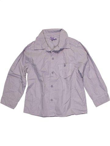 Chemise manches longues garçon COUDÉMAIL gris 3 ans hiver #1087996_1