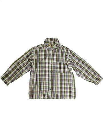 Chemise manches longues garçon TOUT COMPTE FAIT gris 8 ans hiver #1091626_1