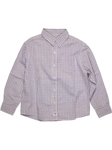 Camisa de manga larga niño OKAIDI gris 6 años invierno #1093499_1