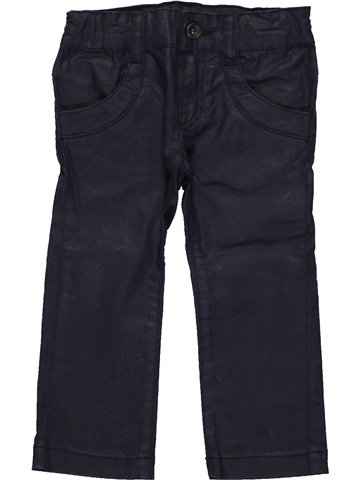 Pantalon fille OOXOO bleu foncé 2 ans hiver #1094637_1