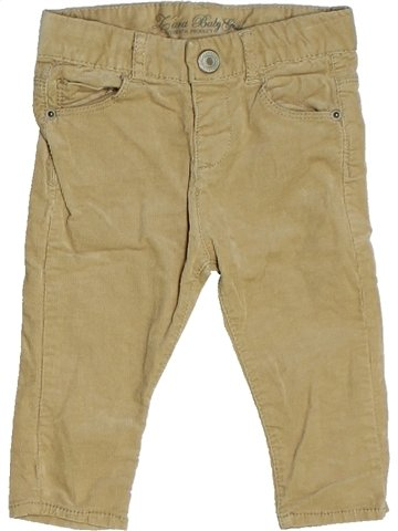 Pantalon fille ZARA marron 9 mois hiver #1099034_1