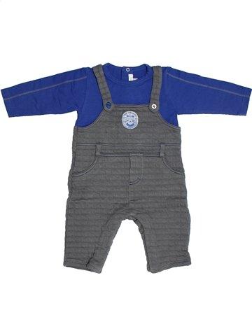 Combinaison longue garçon ABSORBA bleu 6 mois hiver #1101607_1