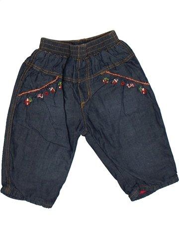 Pantalon fille CATIMINI bleu 6 mois hiver #1103801_1