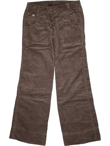 Pantalon fille CATIMINI marron 12 ans hiver #1112121_1