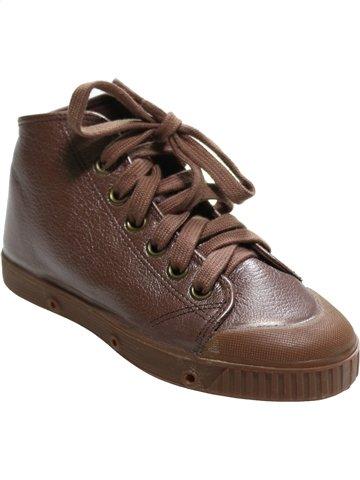 Zapatos con cordones niña SPRING COURT marrón 29 verano #1112731_1