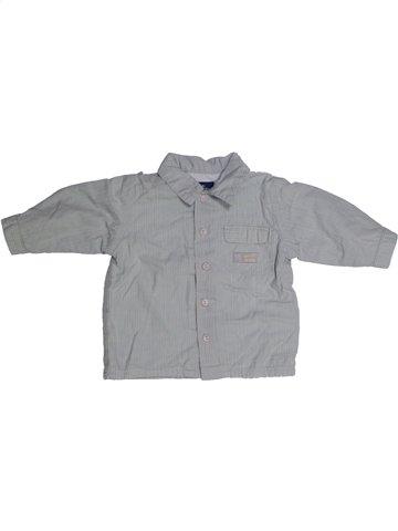 Chemise manches longues garçon SERGENT MAJOR gris 12 mois hiver #1144026_1