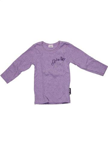 Camiseta de manga larga niña ABSORBA violeta 2 años invierno #1147675_1