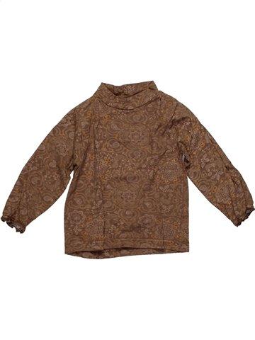 Camiseta de manga larga niña TOUT COMPTE FAIT marrón 2 años invierno #1148882_1