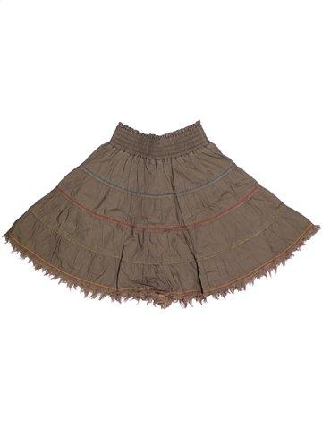 Falda niña CATIMINI marrón 4 años verano #1150068_1