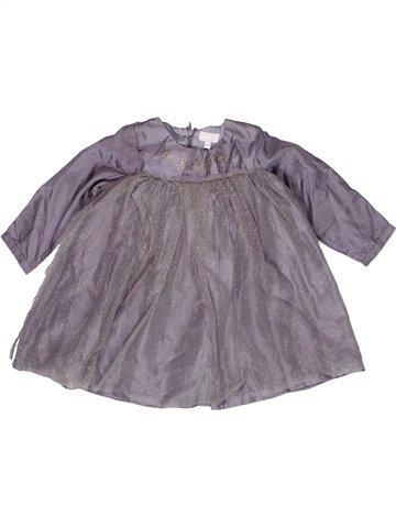 Vestido niña NATALYS gris 2 años invierno #1155516_1