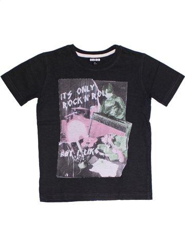 T-shirt manches courtes garçon OOXOO noir 6 ans été #1159309_1