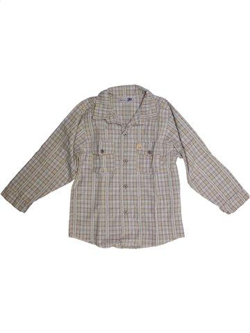 Chemise manches longues garçon YCC-214 gris 5 ans hiver #1160754_1