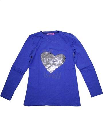 T-shirt manches longues fille DESIGUAL bleu 14 ans hiver #1161087_1