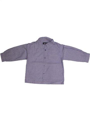 Chemise manches longues garçon TOUT COMPTE FAIT bleu 2 ans hiver #1162637_1
