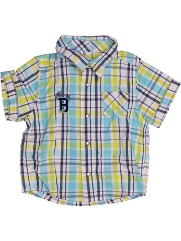 Chemise manches courtes garçon KIABI gris 6 mois été #1167877_1