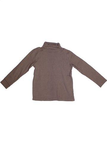 T-shirt col roulé garçon KIABI violet 6 ans hiver #1168065_1