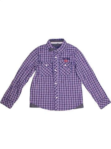 Chemise manches longues garçon KID'S GRAFFITI violet 8 ans hiver #1170910_1