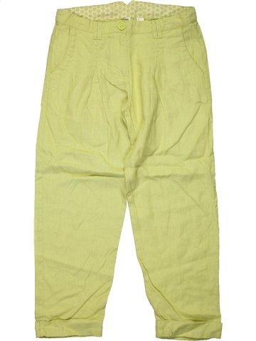 Pantalon fille OKAIDI vert 12 ans été #1172073_1