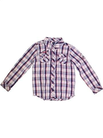 Chemise manches longues garçon TERRE DE MARINS gris 10 ans hiver #1172464_1