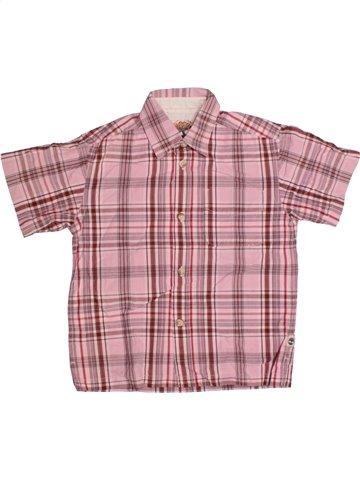 Camisa de manga corta niño TIMBERLAND rosa 4 años verano #1175225_1