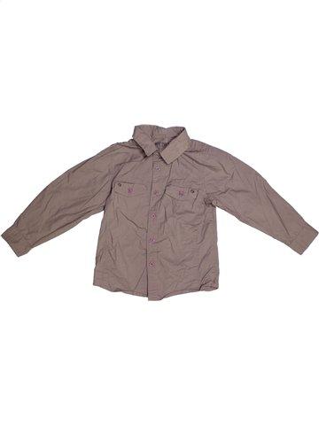 Chemise manches longues garçon YCC-214 gris 4 ans hiver #1175229_1