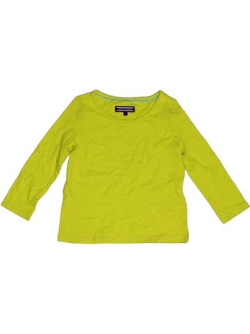 T-shirt manches longues garçon TOMMY HILFIGER vert 12 mois hiver #1176956_1