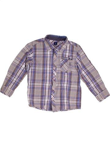 Camisa de manga larga niño TERRE DE MARINS gris 5 años invierno #1177967_1