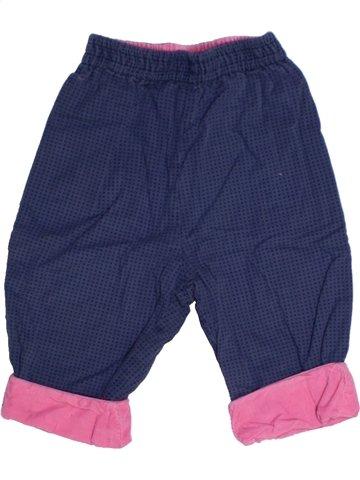Pantalon fille CATIMINI bleu 6 mois hiver #1178313_1