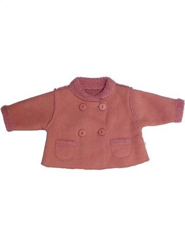 Manteau fille NOUKIE'S rouge 6 mois hiver #1178525_1