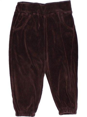 Pantalon garçon ZARA marron 12 mois hiver #1178536_1