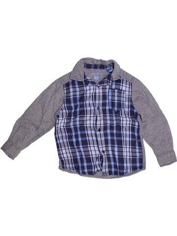 Camisa de manga larga niño OKAIDI gris 3 años invierno #1178873_1