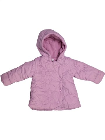 Manteau fille IN EXTENSO rose 6 mois hiver #1179209_1