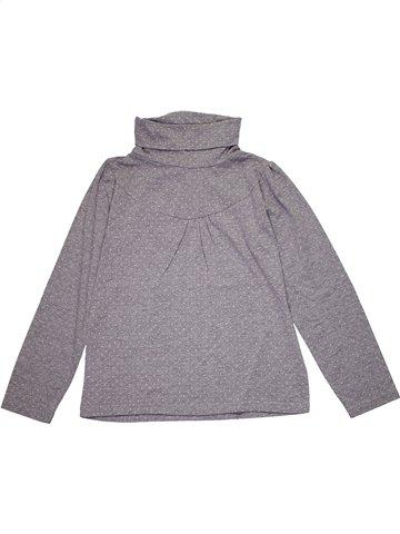 T-shirt col roulé fille 3 SUISSES gris 12 ans hiver #1179839_1