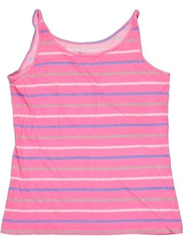 T-shirt sans manches fille TEX rose 12 ans été #1183372_1