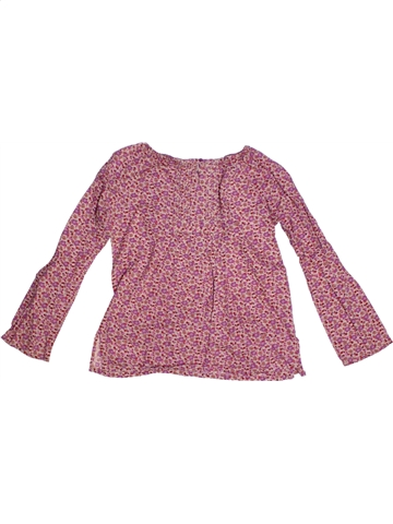 Blouse manches longues fille OKAIDI rose 8 ans hiver #1184117_1