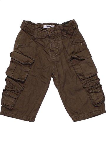 Pantalon garçon DKNY marron 6 mois hiver #1187173_1