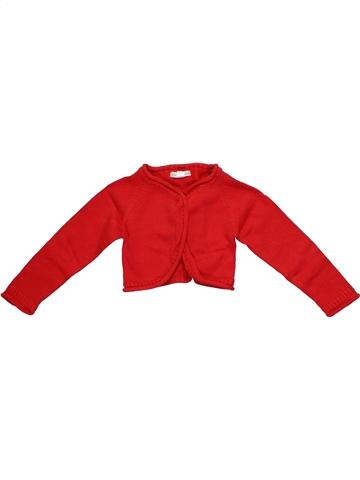 Bolero niña VERTBAUDET rojo 2 años invierno #1189089_1