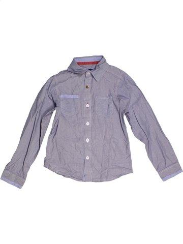 Chemise manches longues garçon YCC-214 gris 6 ans hiver #1189391_1