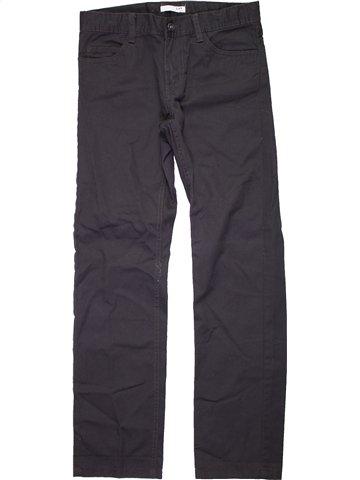 Pantalon fille LH BY LA HALLE noir 10 ans hiver #1191611_1