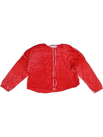 Gilet fille KOOKAI rouge 5 ans hiver #1192662_1