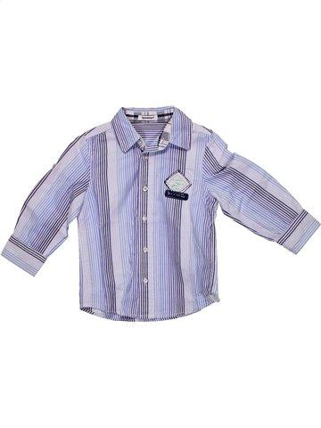 Chemise manches longues garçon 3 POMMES violet 3 ans hiver #1192897_1