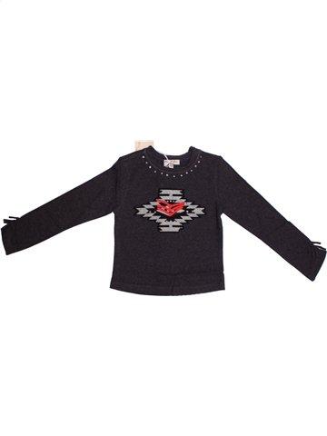 T-shirt manches longues fille ELIANE ET LENA bleu foncé 3 ans hiver #1195771_1