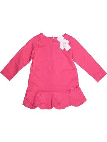 Vestido niña LILI GAUFRETTE rosa 3 años invierno #1196087_1