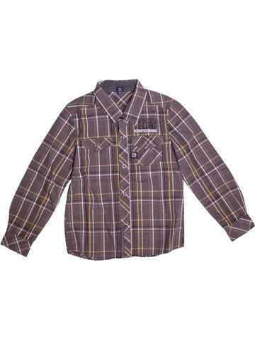 Chemise manches longues garçon TERRE DE MARINS gris 9 ans hiver #1196498_1