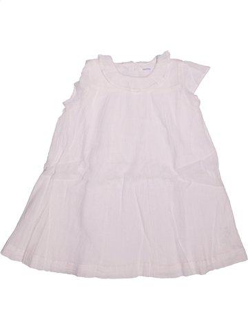 Robe fille BOUT'CHOU blanc 2 ans été #1196913_1