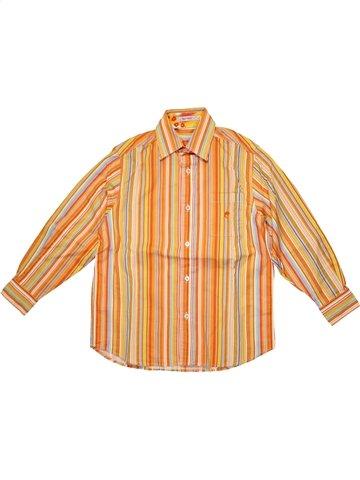 Camisa de manga larga niño CLAYEUX naranja 6 años invierno #1199542_1